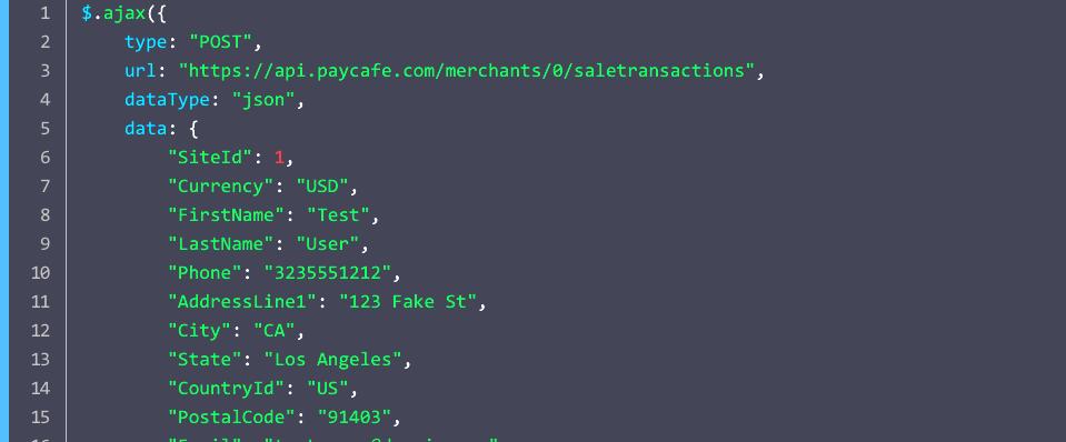 Our API